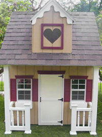 Tiffany's Playhouse - Starting at $2,390