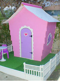 Zig Zag Playhouse- Starting at $1050